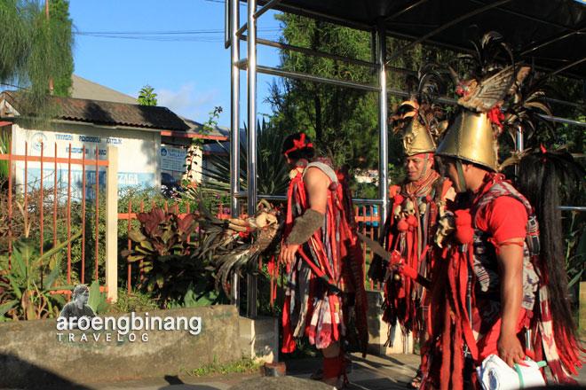 penari kabasaran tomohon