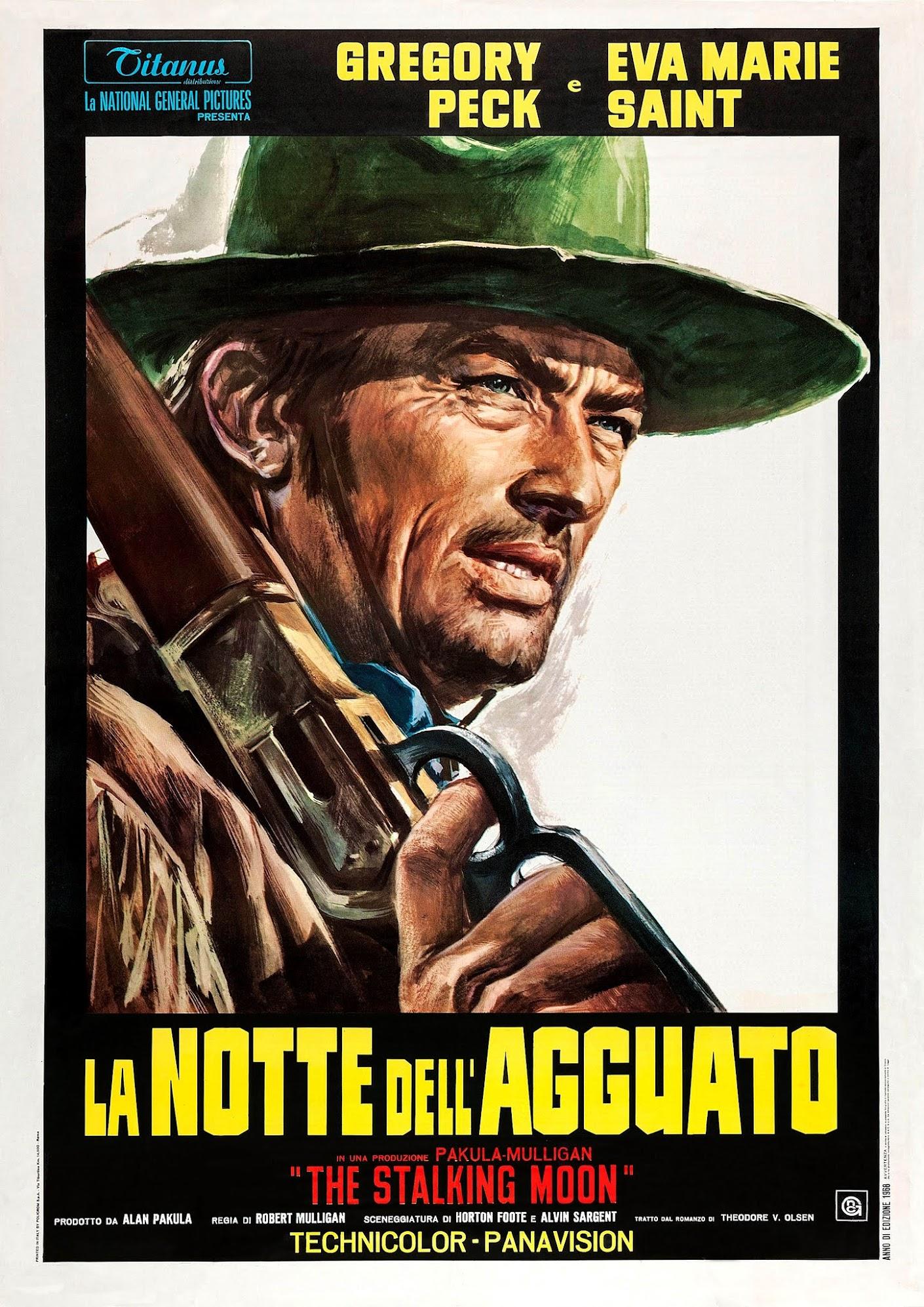 L'homme sauvage (1968) Robert Mulligan - The stalking moon (09.01.1968 / 1968)