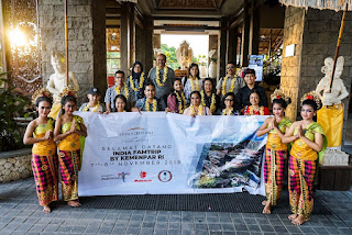 Kemenparekraf Ajak Influencer India Lakukan Familiarization Trip ke Celuk Village Bali