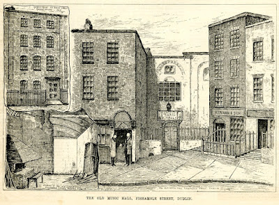 Neal's Musick Hall, Fishamble Street, Dublin