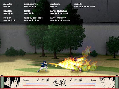 Game Naruto Shinobi Breakdown PC Full Free Download