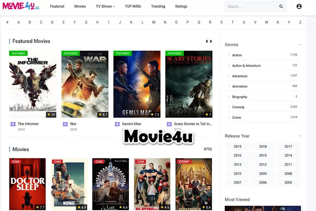 Movie4u : Free Movie Streaming Sites No Sign Up