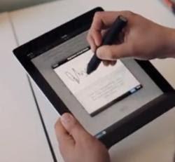 app per pennino su schermo