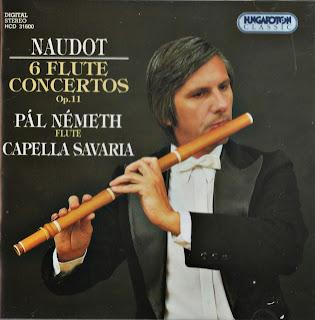 Naudot: 6 Flute Concertos, Op. 11