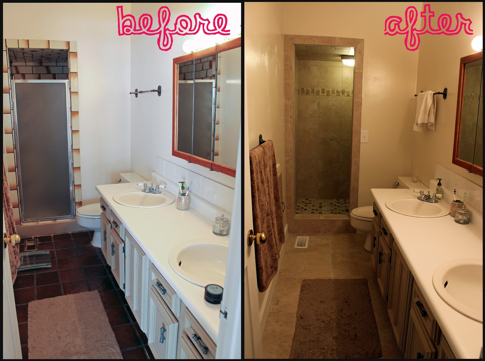 Dakotalovesjeremy - Before and after small bathroom remodels ...