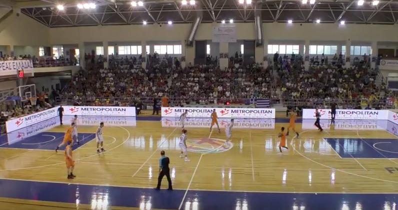 EOK - FIBA U20 | Video Ελλάδα-Ολλανδία 68-36   (GRE-NED  16.07.2016 18.45) Ευρωπαϊκό Πρωτάθλημα στην Χαλκίδα