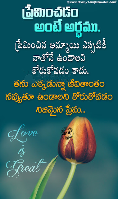 heart touching telugu love quotes, nice love quotes in telugu, love messages in telugu