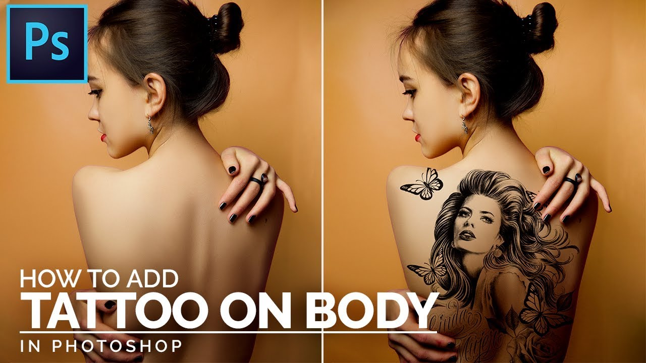how to create tatto on your body in photoshop, illphocorphics, photoshop tutorial, create tattoo on you boyd, photoshop, tutorial, illphocorphics