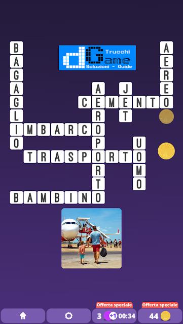 Soluzioni One Clue Crossword livello 12 schemi 4 (Cruciverba illustrato)  | Parole e foto