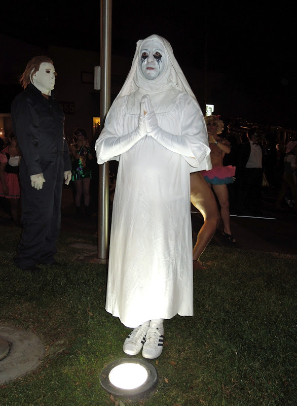 American Horror Story Asylum nun West Hollywood Halloween Carnaval