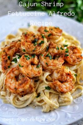 Cajun Shrimp Fettuccine Alfredo Recipe