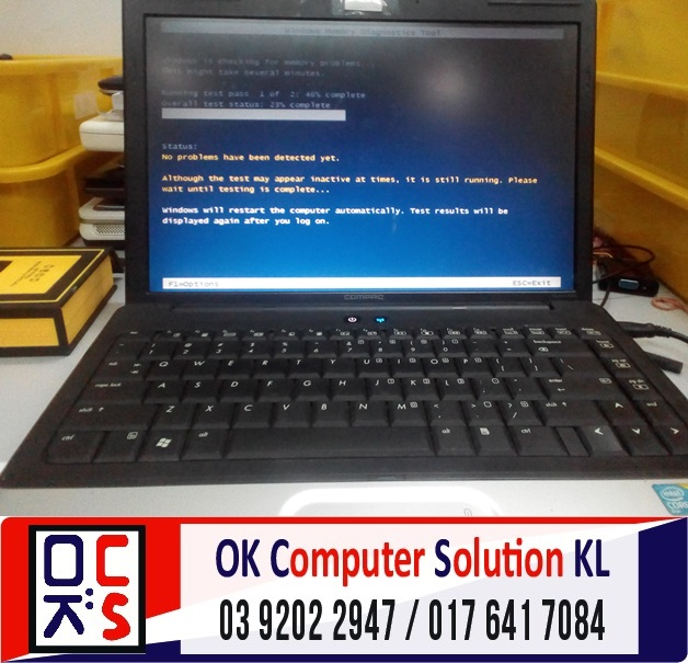 [SOLVED] HP COMPAQ CANNOT REACH WINDOWS | REPAIR LAPTOP CHERAS 2