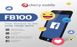 Cherry Mobile FB100 – Smartphone with Facebook Quick Launch Button