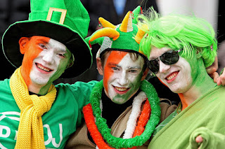 St. Patrick's parade monserrat