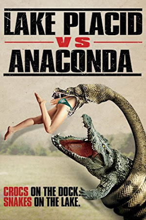 Poster Of Lake Placid vs. Anaconda In Dual Audio Hindi English 300MB Compressed Small Size Pc Movie Free Download Only At worldfree4u.com
