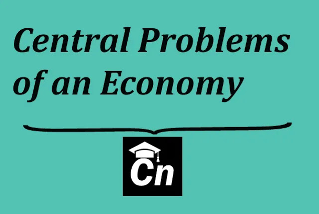 Central Problems Of An Economy, Careerneeti Logo