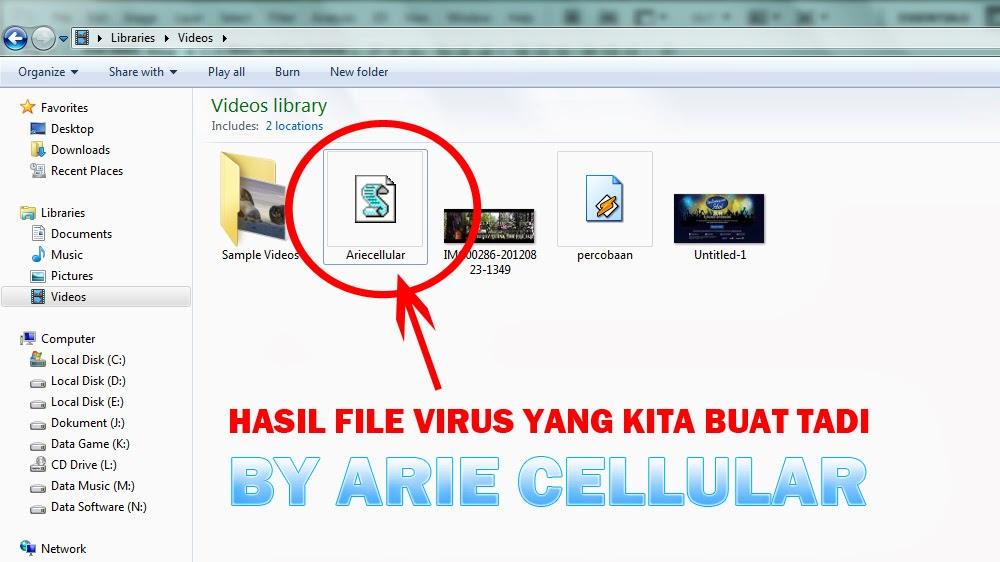 Cara Membuat Virus Trojan | ARIE CELLULAR
