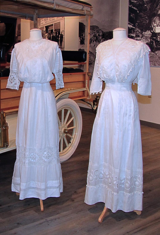 Fountainhead Antique Auto Museum: Lingerie Dresses Of The