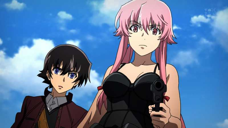 Mirai Nikki, Anime mirip Death Note