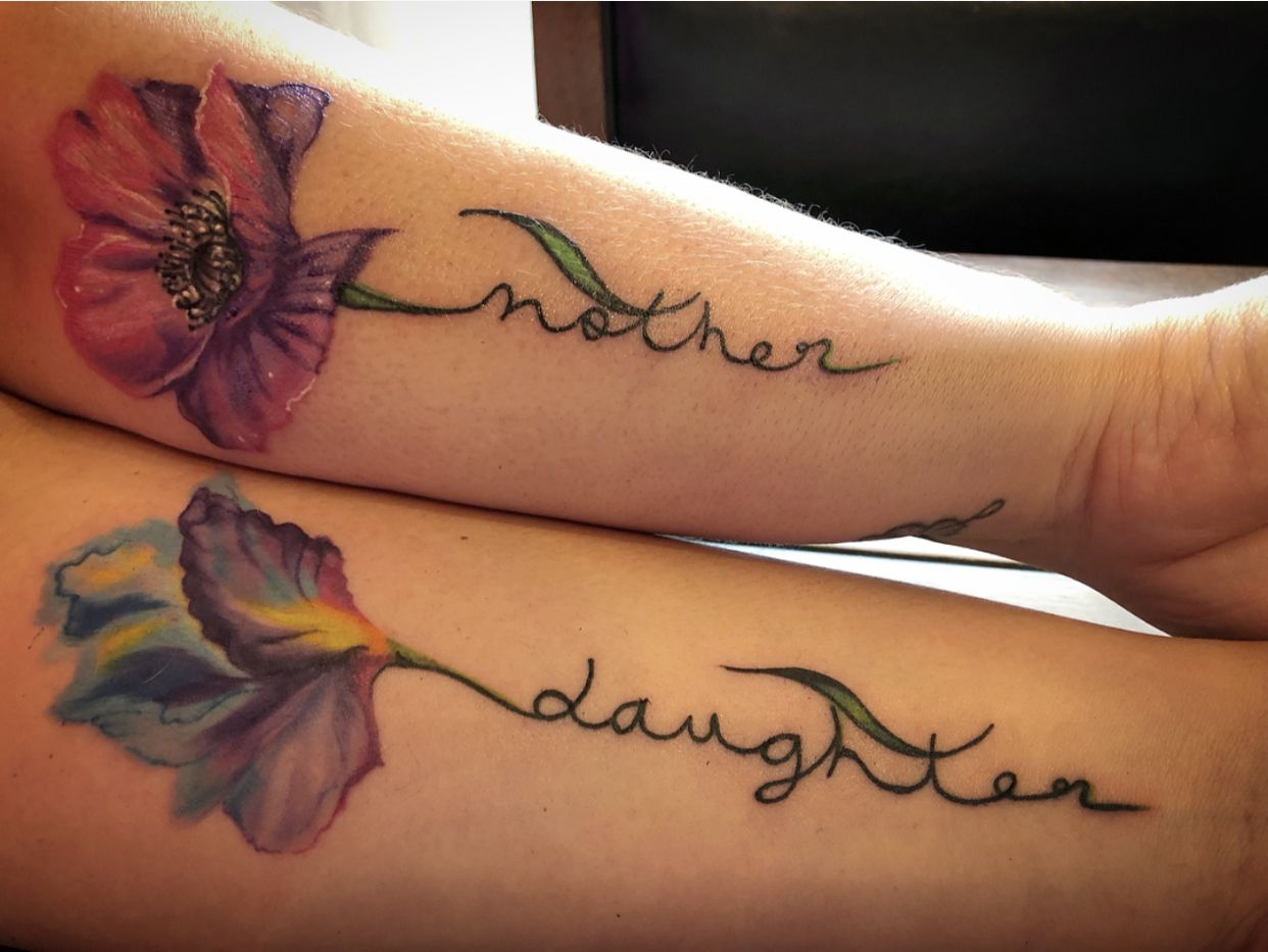 200+ Matching Mother And Daughter Tattoo Ideas (2020