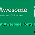 How To Setup Font Awesome Iconic Fonts In Blogger?