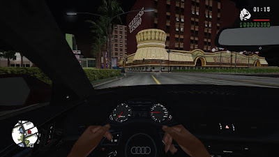 GTA San Andreas New Cars Pack With Dashboard Camera Mod