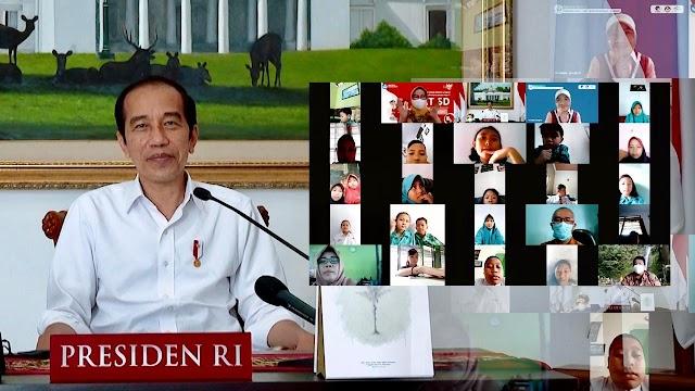 Hari Anak Nasional, Presiden Minta Anak-Anak Semangat Belajar