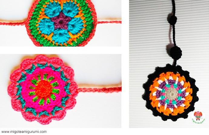 mandalas tejidos en ganchillo - migoteamigurumi.com