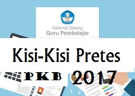 Download Kisi - Kisi Pretest PKB PJOK SMA Update 2017