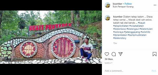 Wisata Terpadu Bukit Pertapan Bayat Klaten