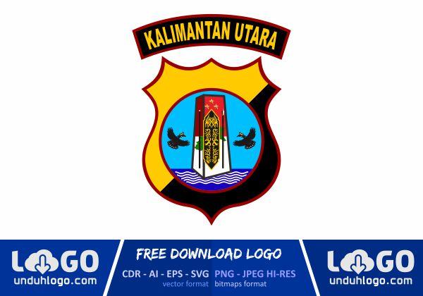 Logo Polda Kalimantan Utara