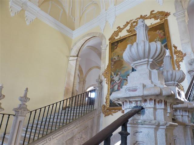 Monasterio de Uclés, escalera