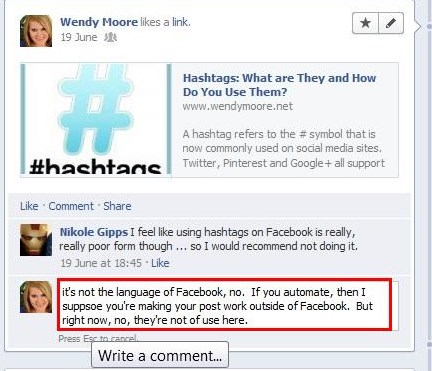 how to delete a facebook comment on someone else's wall
