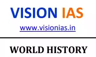 Vision IAS World History 2020 Notes PDF