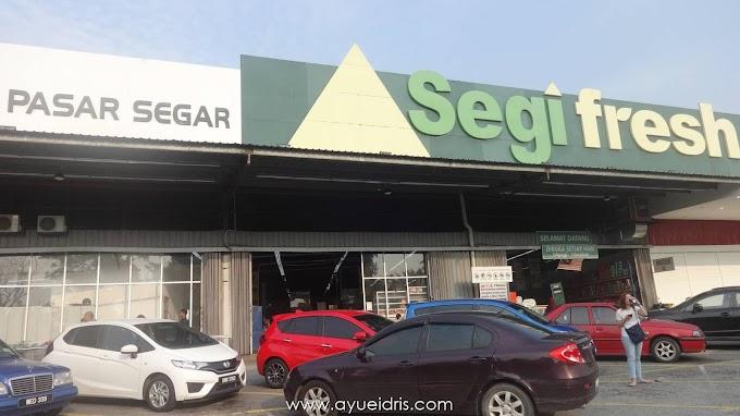 Puas hati beli barang dapur dekat Segi Fresh