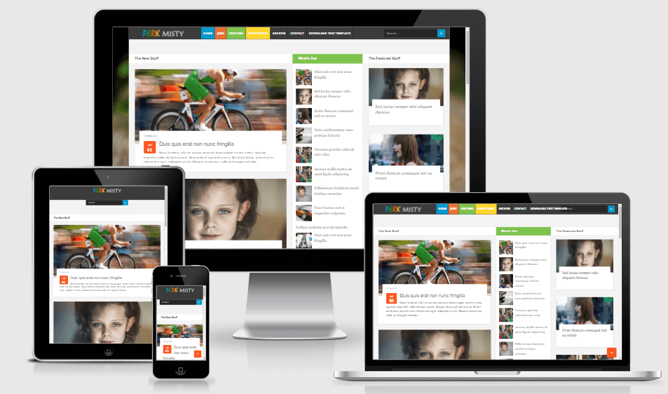 Perk Misty - Responsive Magazine/News Blogger Theme