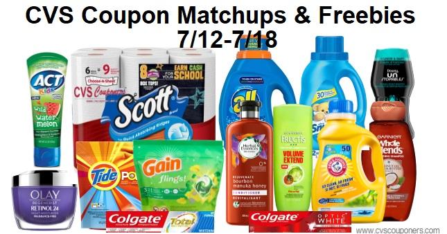 CVS Coupon Deals 7-12-7-18