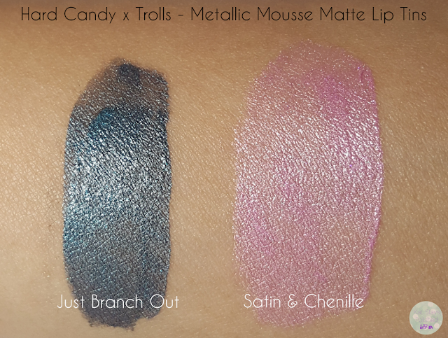 Hard Candy x Trolls: Metallic Mousse Matte Lip Tins | Kat Stays Polished