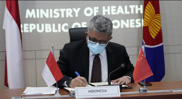 Indonesia - RRT Teken MOU Bidang Kesehatan Tahun 2020-2022