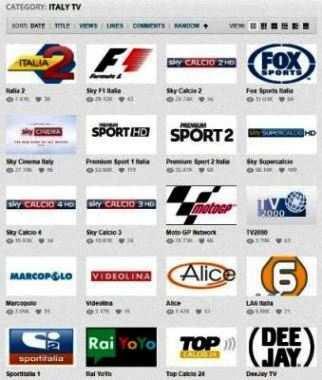 WIKIMAX.EU; Centinaia di Canali TV: Sport e Calcio Italiano (Sky e Premium Sport), Internazionale e anche Film, in streaming.