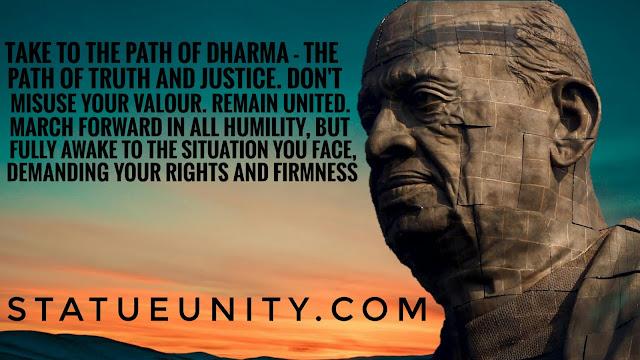 Sardar Patel Quotes