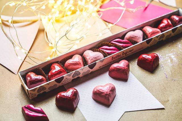 Chocolats favoris boîte St-Valentin idées cadeaux