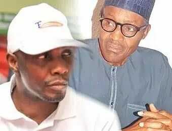 President Buhari Gives Tompolo Kiss of Life