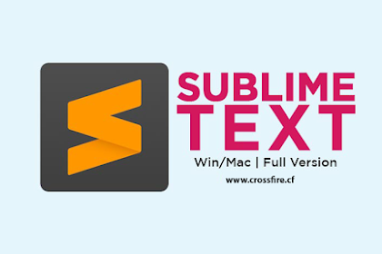 Free Download Sublime Text 3.2.2 Build 3211 Full Version
