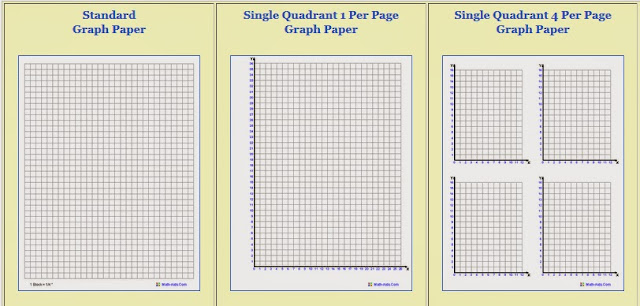 Lion Cub School Homeschool Math - Free Printable Graph Paper - standard graphing paper