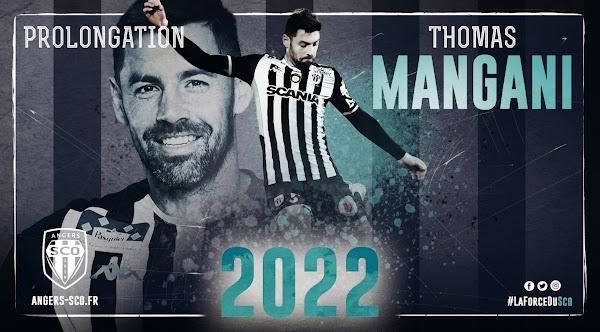 Oficial: El Angers renueva hasta 2022 a Mangani