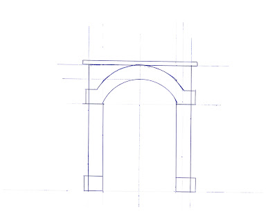 Template for single tunnel portal
