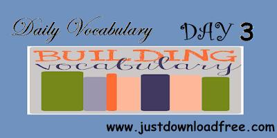 Easy tricks for vocabulary day 3