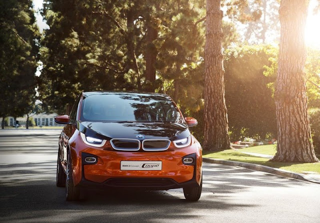 2013 BMW I3 Concept Coupe Front
