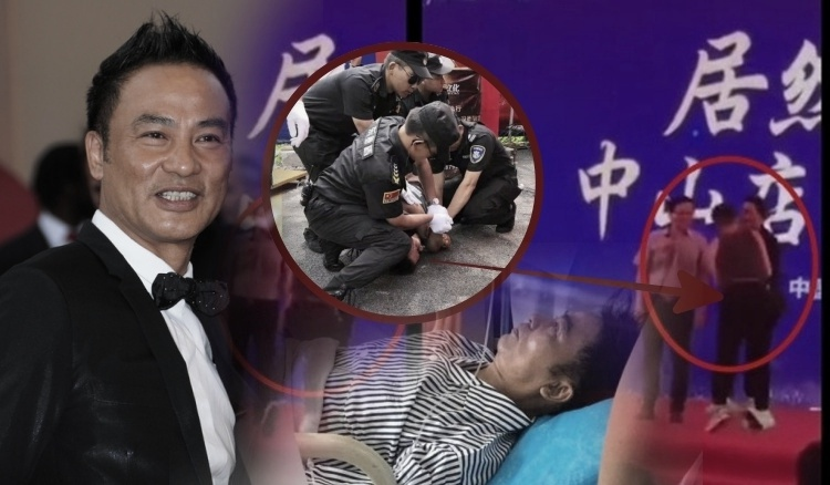 Aktor Terkenal Hong Kong Simon Yam ditusuk orang tak dikenal saat promosi di China